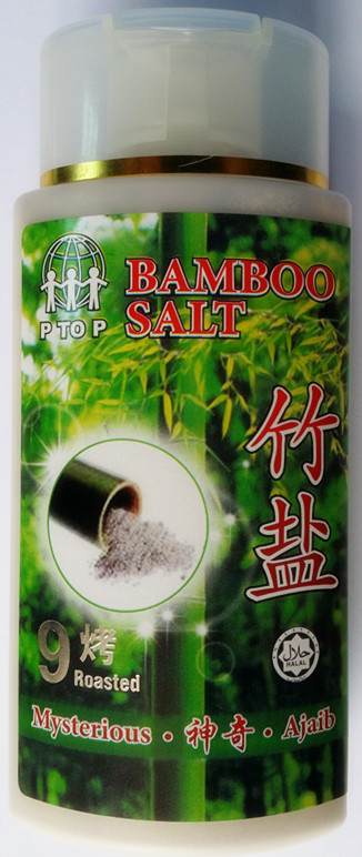 Korean Bamboo Salt 9 burnt